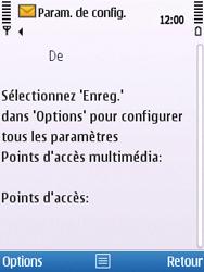 Nokia C5-00 - MMS - Configuration automatique - Étape 4
