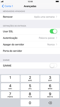Apple iPhone 8 Plus - Email - Configurar a conta de Email -  24