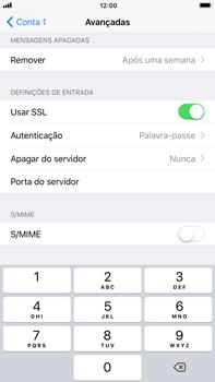 Apple iPhone 7 Plus iOS 11 - Email - Configurar a conta de Email -  24