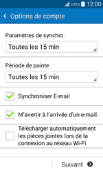 Samsung G355 Galaxy Core 2 - E-mail - Configurer l