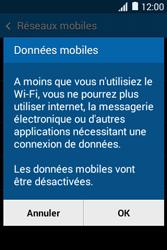Samsung Galaxy Young 2 - Internet - Activer ou désactiver - Étape 7