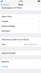 Apple iPhone 7 - iOS 12 - Funções básicas - Como restaurar as configurações originais do seu aparelho - Etapa 4