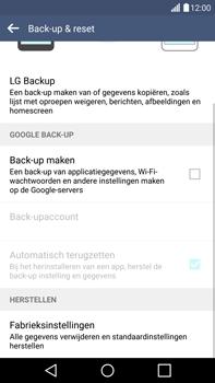 LG G4 - Instellingen aanpassen - Fabrieksinstellingen terugzetten - Stap 6