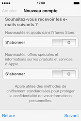 Apple iPhone 4 S iOS 7 - Applications - Télécharger des applications - Étape 17