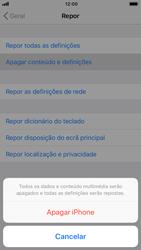 Apple iPhone 7 - iOS 12 - Repor definições - Como repor definições de fábrica do telemóvel -  7