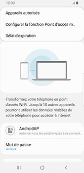 Samsung Galaxy S9 Android Pie - Internet - comment configurer un point d'accès mobile - Étape 9