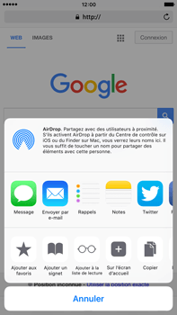 Apple Apple iPhone 6s Plus iOS 9 - Internet - navigation sur Internet - Étape 5