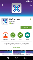 LG K10 4G K420 - Applications - MyProximus - Step 7