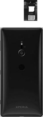Sony Xperia XZ3 - Appareil - comment insérer une carte SIM - Étape 3