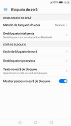 Huawei P8 Lite (2017) - Segurança - Como ativar o código de bloqueio do ecrã -  4