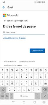 Huawei Mate 20 lite - E-mails - Ajouter ou modifier votre compte Outlook - Étape 6