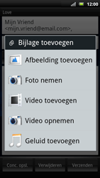 Sony Ericsson Xperia Neo - E-mail - e-mail versturen - Stap 7