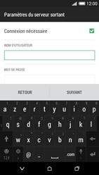 HTC Desire 620 - E-mail - Configuration manuelle - Étape 14