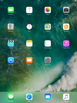 Apple iPad Pro 12.9 (1st gen) - iOS 10 - Internet - WiFi Assistentie uitzetten - Stap 1