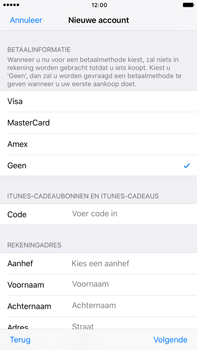 Apple Apple iPhone 6 Plus iOS 10 - Applicaties - Account instellen - Stap 19