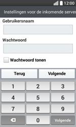 LG D320 L70 - E-mail - Account instellen (IMAP zonder SMTP-verificatie) - Stap 11