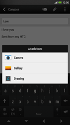 HTC One Max - Email - Sending an email message - Step 12