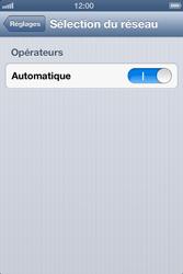 Apple iPhone 4 S - iOS 6 - Réseau - utilisation à l'étranger - Étape 7