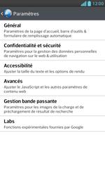 LG E975 Optimus G - Internet - configuration manuelle - Étape 22