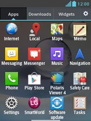 LG E430 Optimus L3 II - MMS - Sending a picture message - Step 2