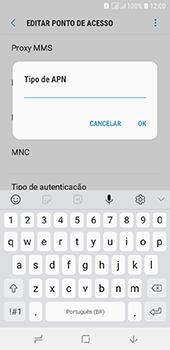 Samsung Galaxy J6 - Internet (APN) - Como configurar a internet do seu aparelho (APN Nextel) - Etapa 14