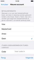 Apple iPhone SE - iOS 10 - Applicaties - Account aanmaken - Stap 19