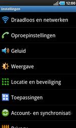 Samsung I9000 Galaxy S - Internet - aan- of uitzetten - Stap 4