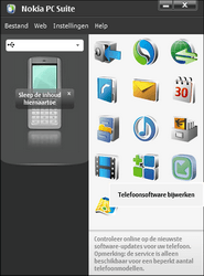 Nokia E51 - Software - Update installeren via PC - Stap 9