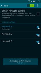 Samsung Galaxy S5 mini - WiFi and Bluetooth - Manual configuration - Step 8