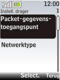Nokia 2720 fold - MMS - handmatig instellen - Stap 13
