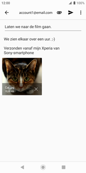 Sony xperia-xz2-h8216-android-pie - E-mail - Bericht met attachment versturen - Stap 16