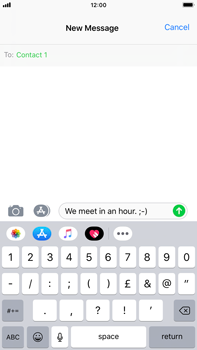 Apple iPhone 8 Plus - iOS 12 - MMS - Sending pictures - Step 7