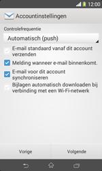 Sony D2005 Xperia E1 - E-mail - Account instellen (IMAP zonder SMTP-verificatie) - Stap 16