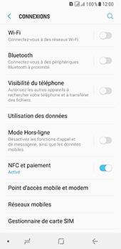 Samsung Galaxy A8 - Internet et connexion - Désactiver la connexion Internet - Étape 5