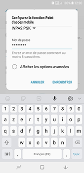 Samsung Galaxy A6 - Internet - comment configurer un point d'accès mobile - Étape 10