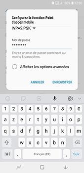 Samsung Galaxy A6 - Internet et connexion - Partager votre connexion en Wi-Fi - Étape 10