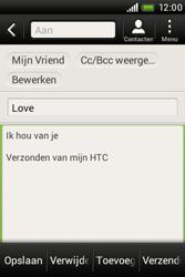 HTC A320e Desire C - E-mail - hoe te versturen - Stap 10