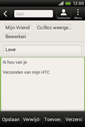 HTC A320e Desire C - E-mail - e-mail versturen - Stap 9