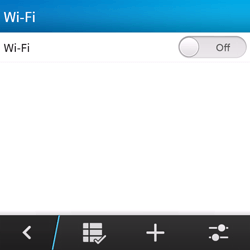 BlackBerry Q5 - WiFi and Bluetooth - Manual configuration - Step 6