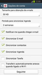 Samsung Galaxy S3 - Email - Adicionar conta de email -  9