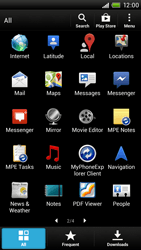 HTC S728e One X Plus - Applications - Downloading applications - Step 3