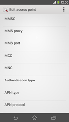 Sony D2303 Xperia M2 - Mms - Manual configuration - Step 10
