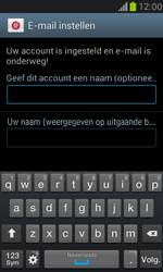 Samsung I8190 Galaxy S III Mini - E-mail - Account instellen (POP3 met SMTP-verificatie) - Stap 16
