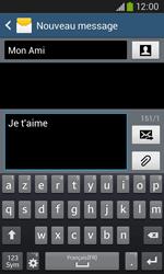 Samsung Galaxy Ace 3 - Contact, Appels, SMS/MMS - Envoyer un SMS - Étape 10