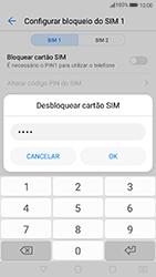 Huawei P8 Lite (2017) - Segurança - Como ativar o código PIN do cartão de telemóvel -  8