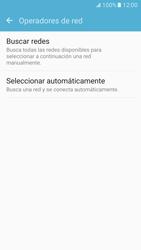 Samsung Galaxy S7 - Red - Seleccionar una red - Paso 6