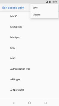 Nokia 8 Sirocco - MMS - Manual configuration - Step 16