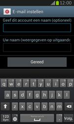 Samsung S7710 Galaxy Xcover 2 - E-mail - e-mail instellen: IMAP (aanbevolen) - Stap 19