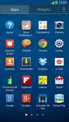 Samsung I9500 Galaxy S IV - Rede móvel - Como ativar e desativar uma rede de dados - Etapa 3