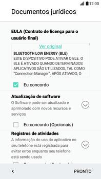 LG G5 Stylus - Primeiros passos - Como ativar seu aparelho - Etapa 15